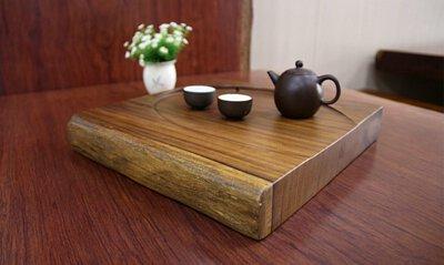 茶盤-原木茶盤