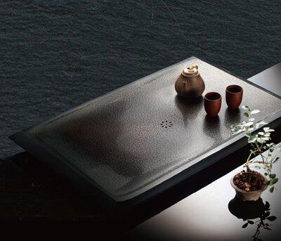 石磐-石雕茶盤