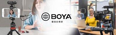 BOYA 收音設備系列包含:無線、手持麥克風、無線麥克風接收器、發射器、電容麥克風、槍型麥克風、指向性麥克風與防風毛帽等各式器材。