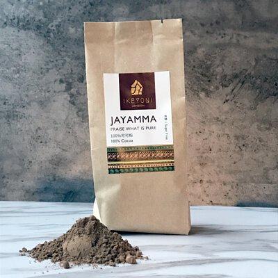 ikeyoni天然無糖可可粉可用來沖泡熱巧克力熱可可