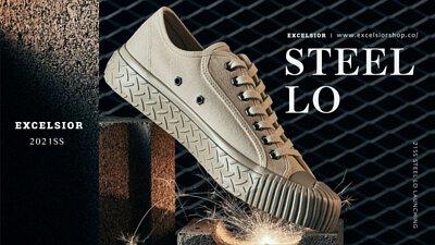 21SS STEEL 餅乾鞋