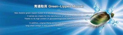 青邊貽貝是百通關的主要原料,從青邊貽貝萃取出的GAG,正是關節滑液所需的營養成分