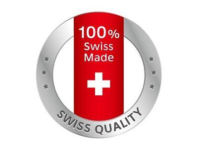 百分之百瑞士製造,通過歐盟嚴格品質把關,符合Swiss Quality高質量標準