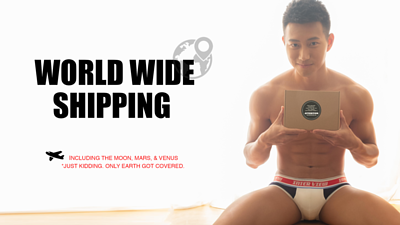 Attention Wear offer world wide shipping, including Asia, Europe, America, and Australia
