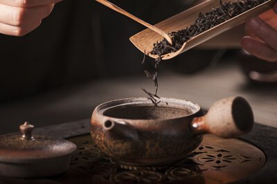 茗窖茶莊泡茶圖片