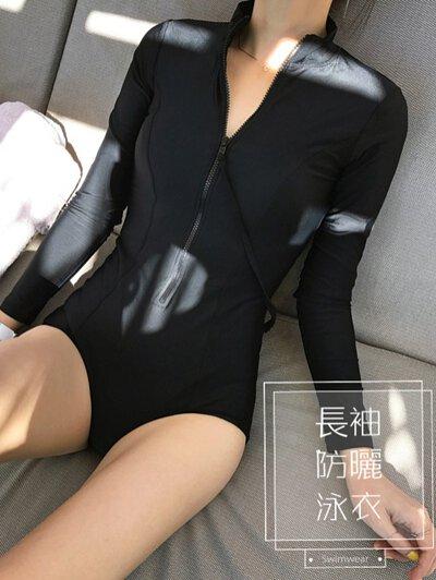 長袖泳衣 泳衣 水母衣 防曬泳衣