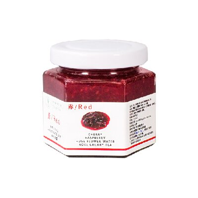 赤-覆盆子櫻桃玫瑰手工果醬