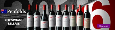 The lastest vintage release - 2016. Explore the wide range of Brand Penfolds (澳洲奔富) Wines available online at 1858Wines.com.