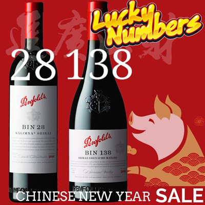 【Lucky Number Wines Recommendation】for Chinese New Year Gift Idea at 1858Wines.com