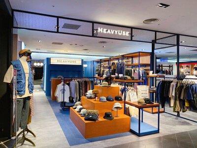 HeavyUse Select Shop 台中 新光三越中港店