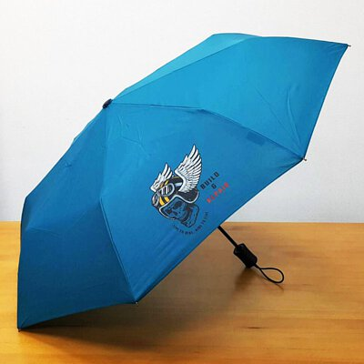 熱轉印現成傘三折自動開收傘