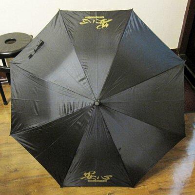 殯葬業禮儀葬儀社廣告傘撐黑傘現成傘印刷熱轉印