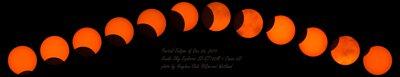 天文小紅 太陽濾片日食拍照 日環食拍攝 日食照片