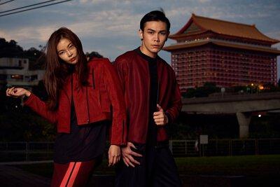 《2019情人節》 LARMURE同色系情侶穿搭提案,讓你放閃也可以很時尚!#紅色系情侶穿搭
