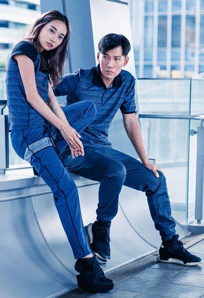 《2019情人節》 LARMURE同色系情侶穿搭提案,讓你放閃也可以很時尚!#藍色系情侶穿搭
