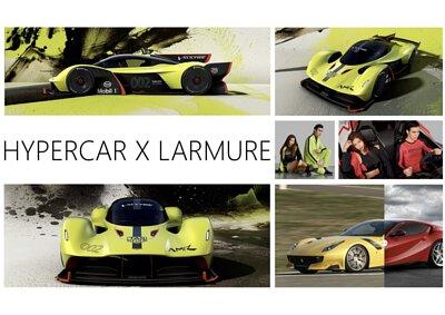 LARMURE這次的新品,發想自每個男人的夢想 - HYPERCAR超級跑車,其實LARMURE設計師私底下,除了熱愛時尚、STARWARS,對於HYPERCAR也抱有非常大的熱情。