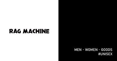 RAG MACHINE,男裝,女裝,配件