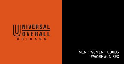 UNIVERSAL OVERALL,WORK,工裝,男裝,女裝,配件