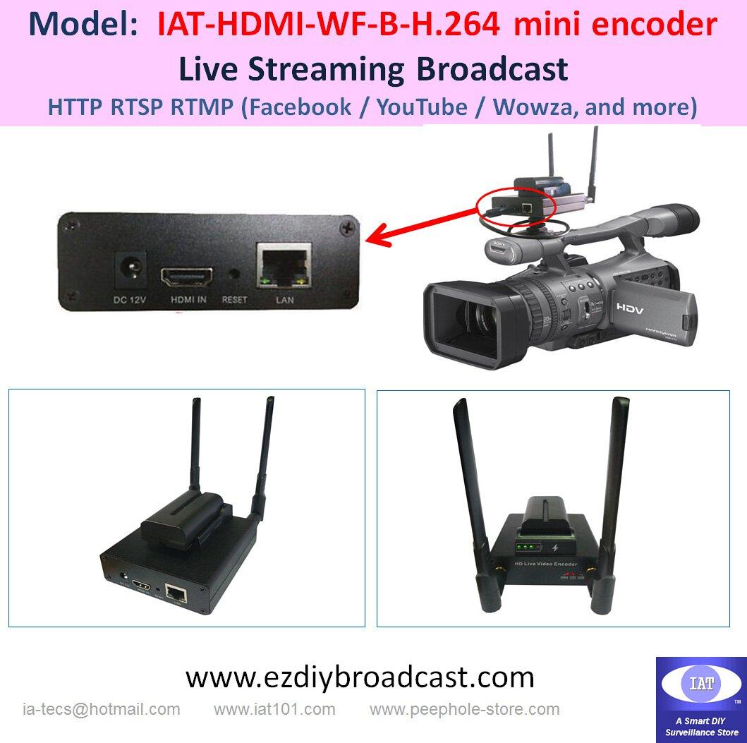 IAT-HDMI-WF-B-H264 Mini Encoder