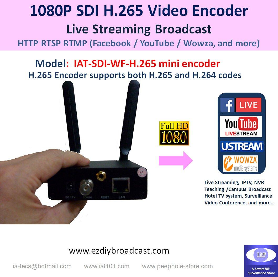 IAT-HDMI-WF-H265 Mini Encoder