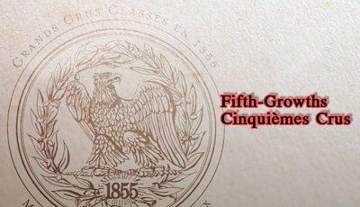 Grand Cru classé en 1855,fifth-growths, 五級莊