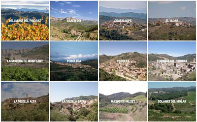 Priorat 12 production area