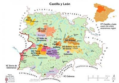 tierra castilla y leon MAP