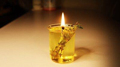 橄欖油油燈