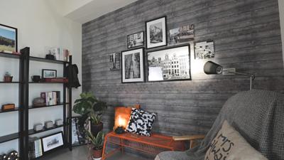 美牆貼貼 冰島木紋