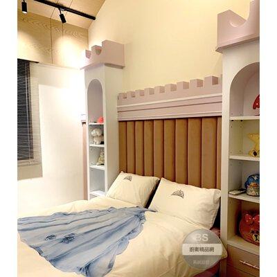 粉紅色房間,公主房間,城堡房間,女兒房