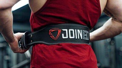 IFBB PRO大H 陳建昕穿著TEAMJOINED 挖背背心 和 健美腰帶 在健身房裡賣力練胸練背練手練腿