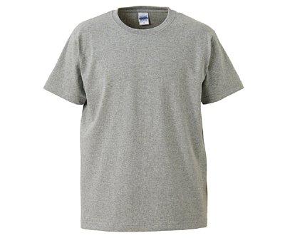 UnitedAthle 3425201 - 7.1oz 麻灰色純棉重磅中性圓領短T(正)