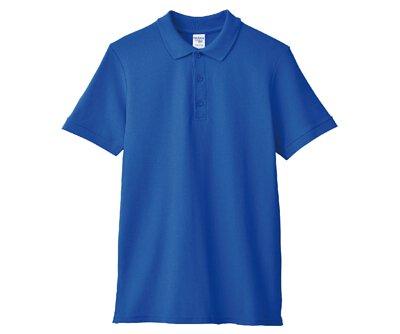 GILDAN 6800 – 6.5oz 寶藍色純棉短袖POLO衫