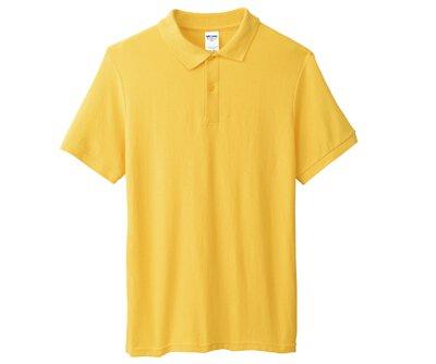 GILDAN 95800 – 6oz 黃色網眼短袖POLO衫