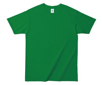 GILDAN HA00 - 6.1oz 愛爾蘭綠純棉亞規厚磅中性圓領短T