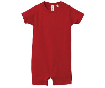 UnitedAthle 3514802 - 5.6oz 紅色純棉嬰兒包屁衣(正)