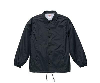 UnitedAthle 3705901 - 黑色尼龍教練外套(有內裏)