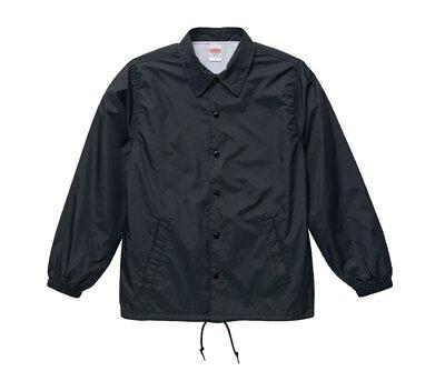 UnitedAthle 3705901 - 黑色尼龍教練外套
