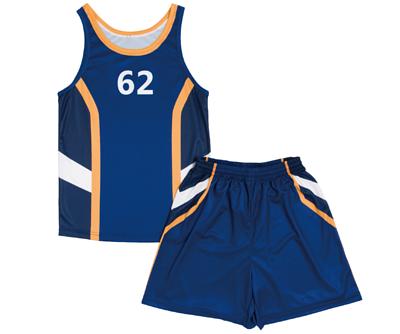 滿版熱昇華籃球衣套裝(攤平)