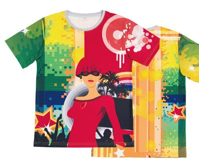 滿版熱昇華 - 休閒T恤