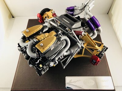 FrontiArt Pagani Huayra Engine 1/6