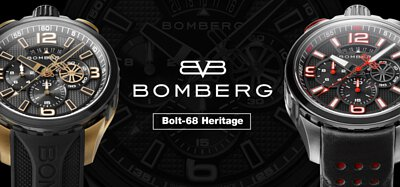 BOMBERG ,racing,bolt-68,奧創,ultra gears,Bolt-68 Heritage