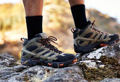 MOAB2 麂皮皮革防水靴