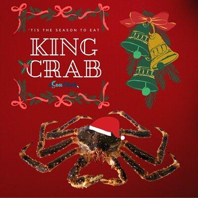 eSea Click海鮮速遞 聖誕優惠 阿拉斯加長腳蟹 皇帝蟹 照價減$188