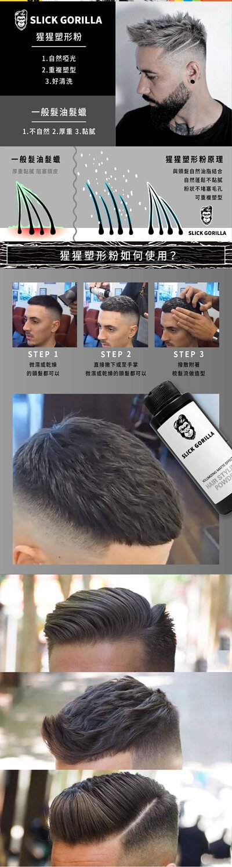 Slick Gorilla 猩猩頭髮塑型粉