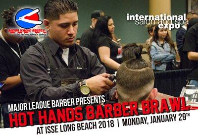 💈Hot Hands Barber Brawl 2018 理髮師髮型競賽內容與流程分享