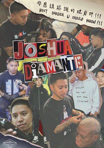 『 你應該認識的理髮師 !!! EP2 』 Joshua Diamante 約書亞·迪亞曼特 – 多倫多職業運動員最信任的髮型師