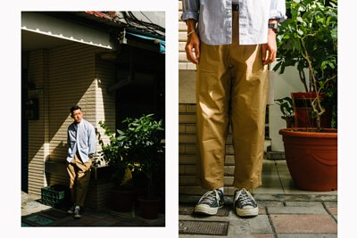 gramicci, weather resort, pants