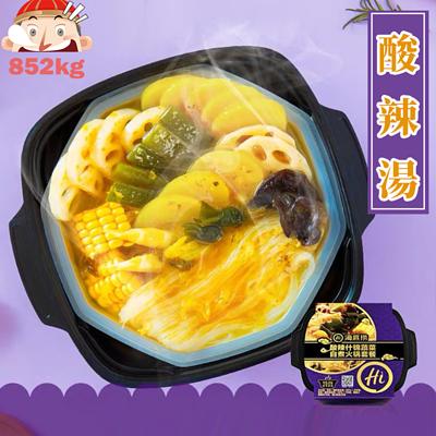 「海底撈」(酸辣)雜錦蔬菜 酸辣味 懶人火鍋 410g