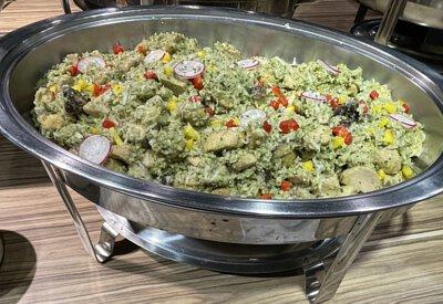 青醬雞肉野菇燉飯